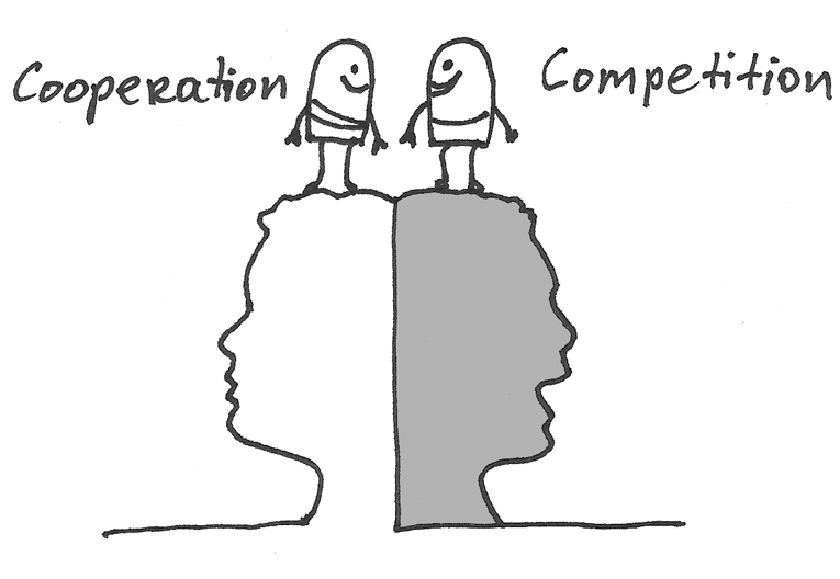 competition and co operation A liberal essay describing the origins and roles of competition and cooperation in human society.