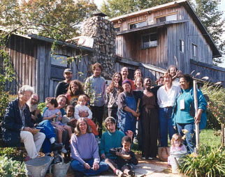 Intentional community group photo