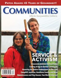 Communities magazine #172 Fall 2016 Service and Activism
