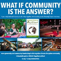 What if community is the answer?