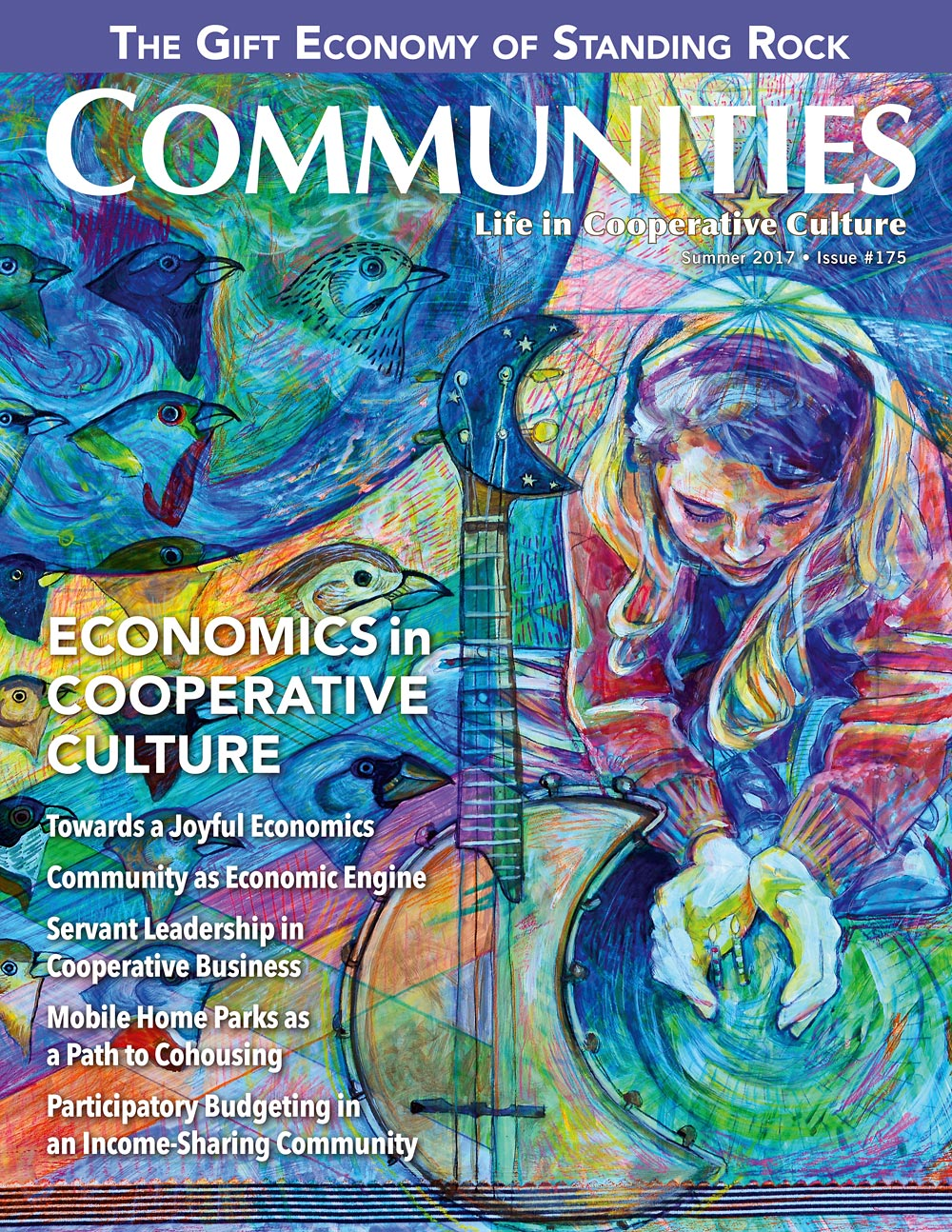 Economics In Cooperative Culture - Communities Magazine Cover - Summer #175